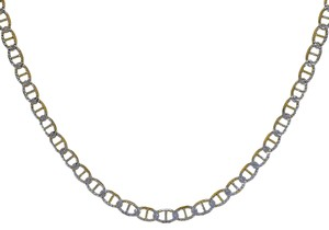 Avital & Co Jewelry 18K Two Tone Gold Over St. Silver 20
