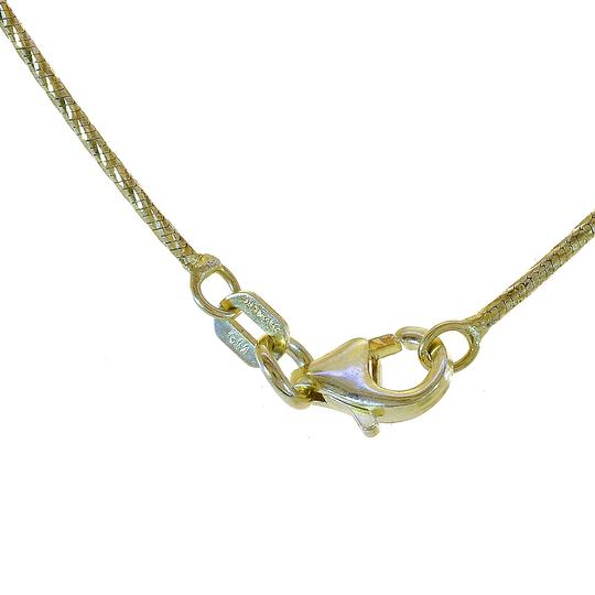 Avital & Co Jewelry 18K Two Tone Gold Over Sterling Silver 20
