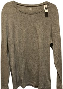 Old Navy T Shirt Heathered Gray