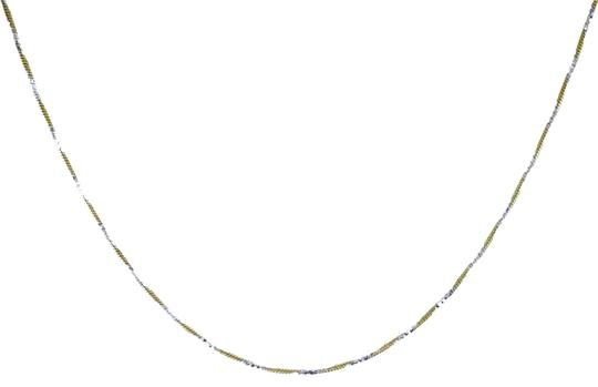 Preload https://img-static.tradesy.com/item/22922483/avital-and-co-jewelry-18k-gold-over-sterling-silver-two-tone-22-snake-link-chain-necklace-0-1-540-540.jpg