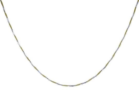 Avital & Co Jewelry 18K Two Tone Gold Over Sterling Silver 22