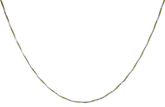 Preload https://img-static.tradesy.com/item/22922518/avital-and-co-jewelry-18k-gold-over-sterling-silver-two-tone-22-snake-link-chain-necklace-0-1-540-540.jpg