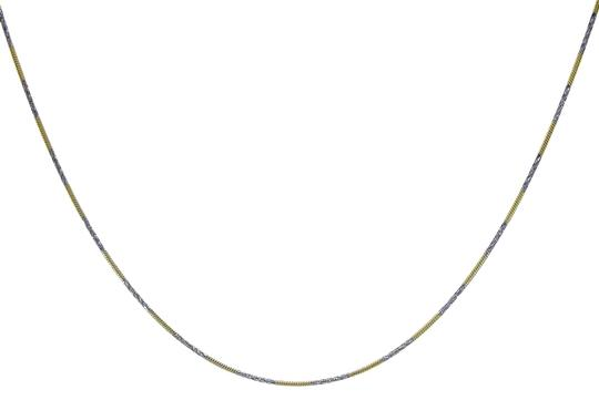 Preload https://img-static.tradesy.com/item/22922573/avital-and-co-jewelry-18k-gold-over-sterling-silver-two-tone-20twisted-snake-link-necklace-0-1-540-540.jpg