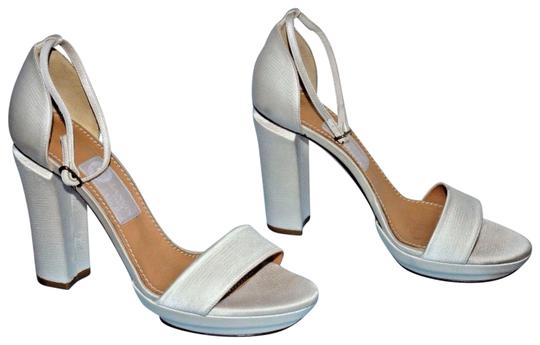 Preload https://img-static.tradesy.com/item/22922595/lanvin-white-silky-satin-classic-sandal-ankle-strap-thick-heels-new-formal-shoes-size-eu-39-approx-u-0-1-540-540.jpg
