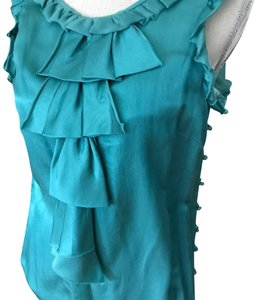 MILLY Top Tiffany Blue