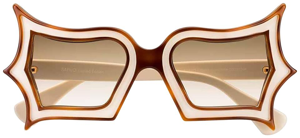df2dfc9bc8ee Peggy Guggenheim by Safilo Peggy Guggenheim Cat Eye Acetate Glasses Image 0  ...