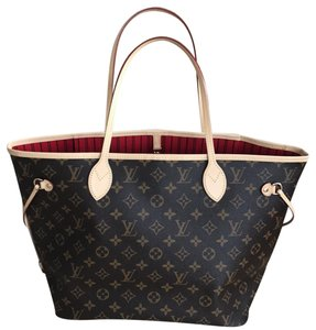 Louis Vuitton Metis Tote in Neverfull MM New. Monogram w/cherry interior