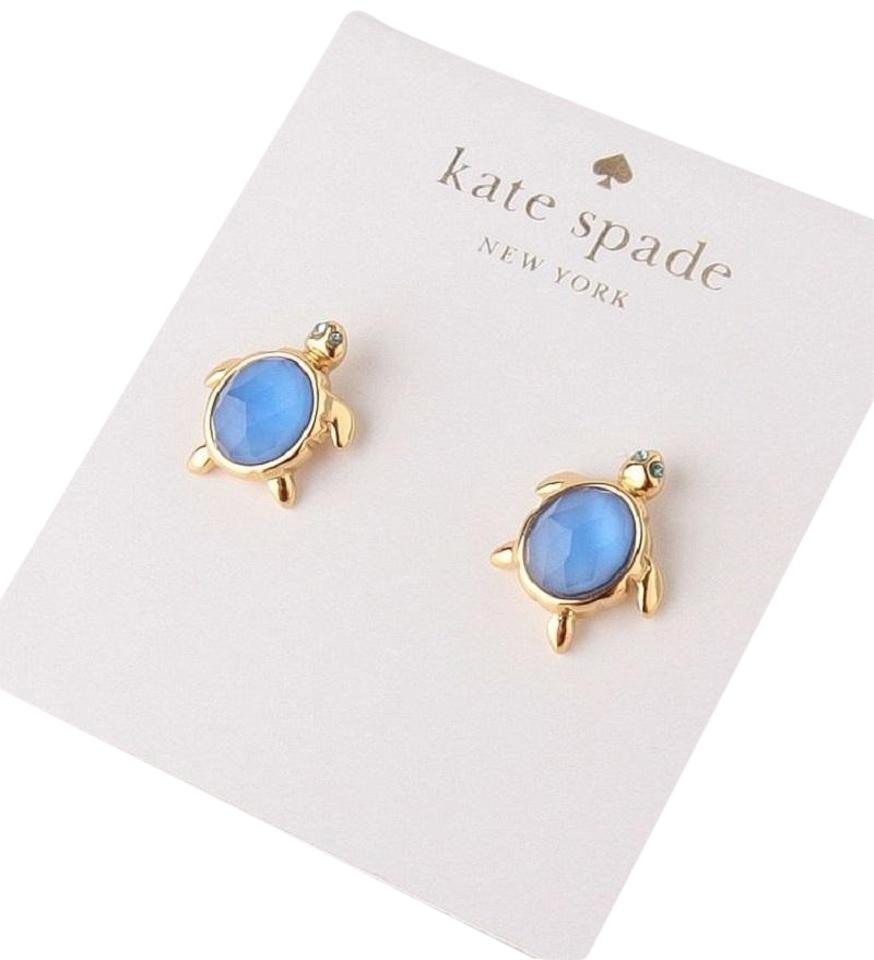 indies wear products gold turtle west earrings stud