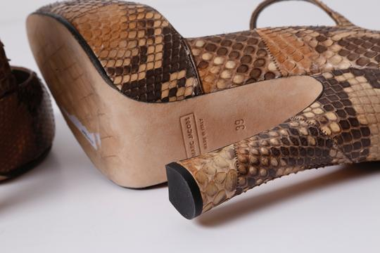 Marc Jacobs Snake Print Brown Pumps Image 9