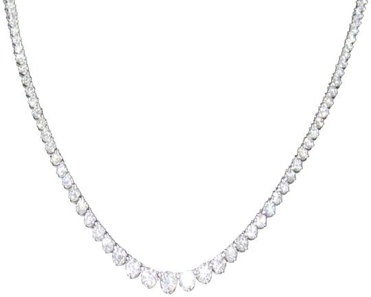 Other DIAMOND 14KT White Gold Diamond Necklace for ladies Image 1