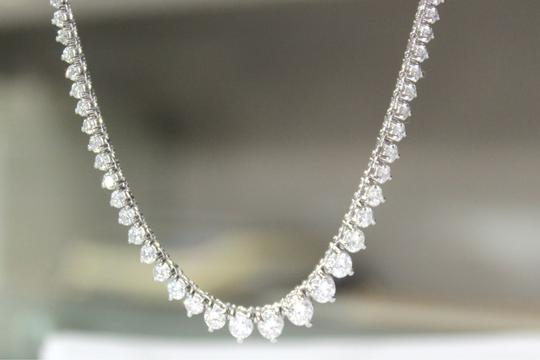 Other DIAMOND 14KT White Gold Diamond Necklace for ladies Image 2