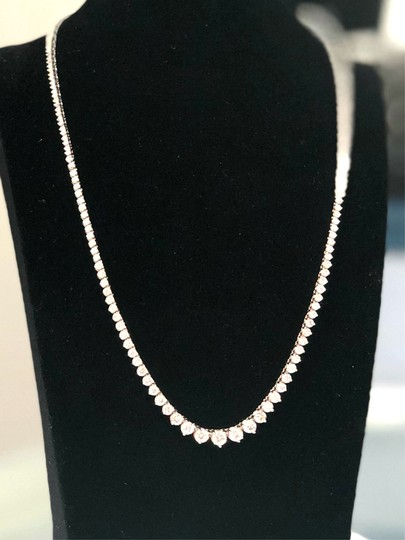 Other DIAMOND 14KT White Gold Diamond Necklace for ladies Image 3