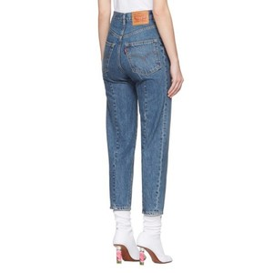 Vetements Relaxed Fit Jeans-Medium Wash