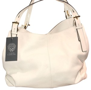Vince Camuto Tote in White/Gold