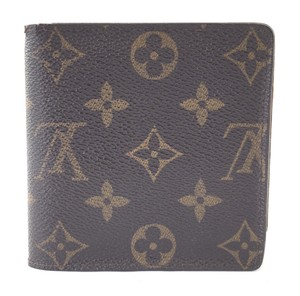 Louis Vuitton Monogram Bifold Compact Wallet coin change holder