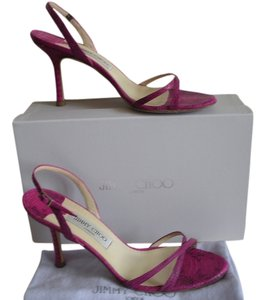 Jimmy Choo Raspberry Sandals