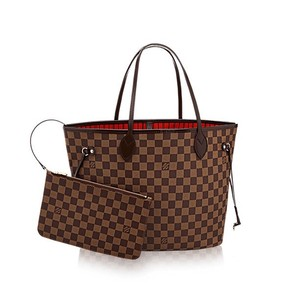Louis Vuitton Neverfull Monogram Tote in Damier Canvas