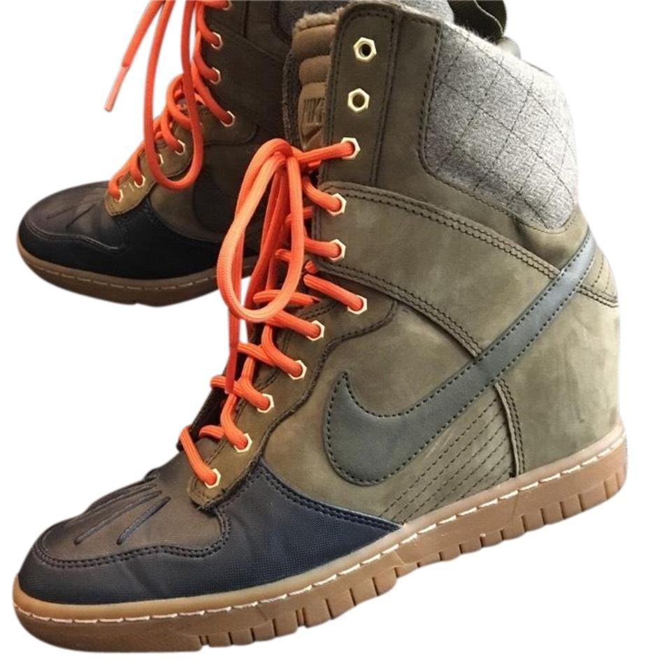 Women's Nike Green Women's and High-top Boots/Booties Reasonable delivery and Women's punctual delivery 35a99a