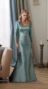 Montage By Mon Cheri Dark Aqua 212939 Dress