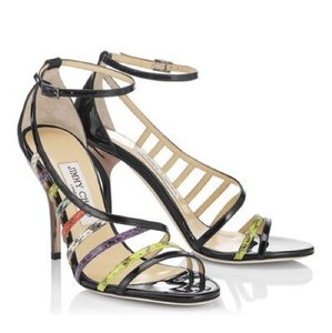 Jimmy Choo black multicolor Sandals