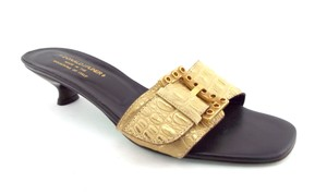 Donald J. Pliner Gold Sandals