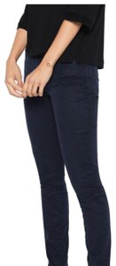 7 For All Mankind Ankle Skinny Pants Navy Blue
