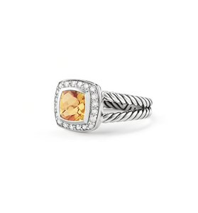 David Yurman David Yurman Citrine & Diamond Albion Ring
