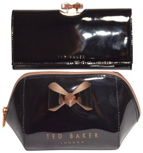 322c72146 Ted Baker New Patent Leather Caleena Wallet with Cosmetic Case