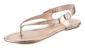 Tory Burch Rose Gold Sandals