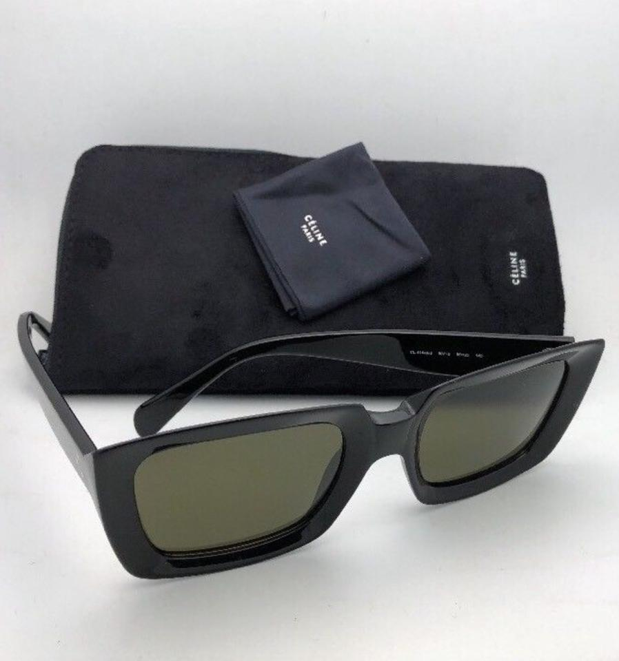 ced7ce32482 Céline New CELINE Sunglasses CL 41449 S 80770 55-23 145 Black w .  1234567891011