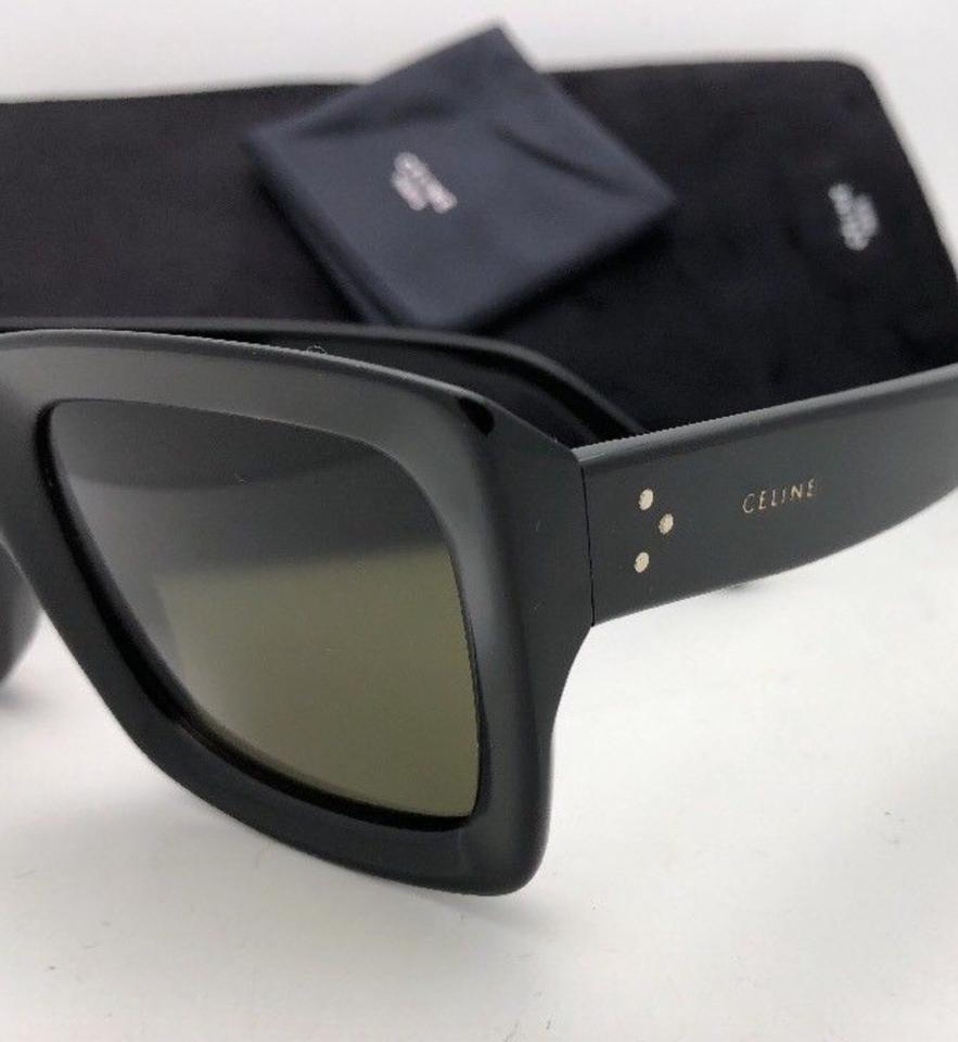 aaaddaf1f5a44 Céline New CELINE Sunglasses CL 41449 S 80770 55-23 145 Black w .  1234567891011