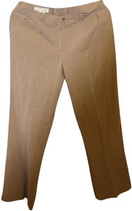Escada Straight Pants Beige