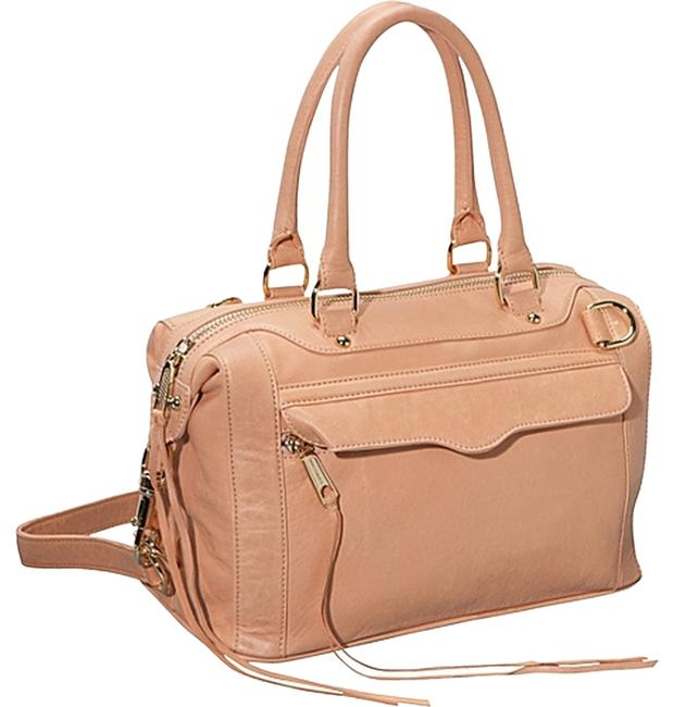 Item - Mini M.a.b. (Morning After Bag) Nude Peach Leather Satchel