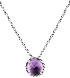 David Yurman David Yurman Amethyst Chatelaine Necklace