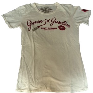 Johnson Motors Inc T Shirt Cream