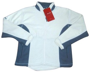 Helly Hansen Handwarmer Relaxed Fit Stand Up Collar Zippered Super Quality Cream Gray Jacket