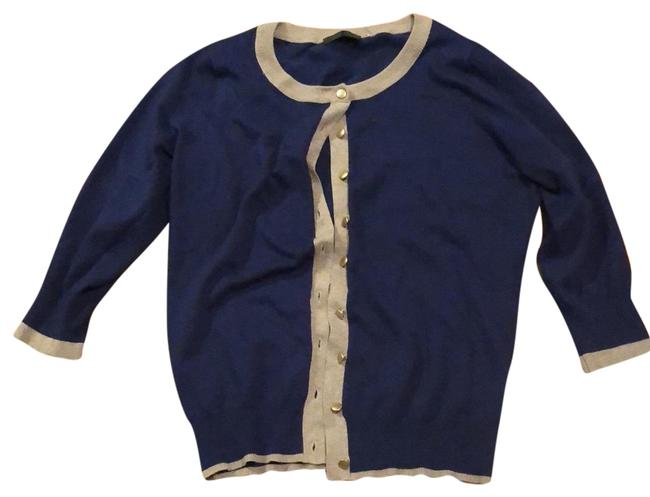 Item - Classic Navy with Tan Sweater