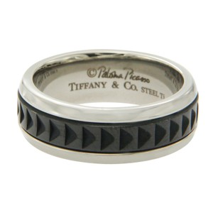 Tiffany & Co. Tiffany & Co Paloma Picasso Stainless Steel Titanium Ring