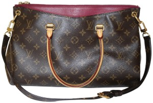 Louis Vuitton Pallas Pallas Pallas Tote Raisin Lv Satchel in Monogram