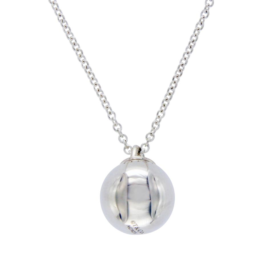 Tiffany co hardware 925 silver ball pendant necklace tradesy hardware 925 silver ball pendant necklace aloadofball Image collections