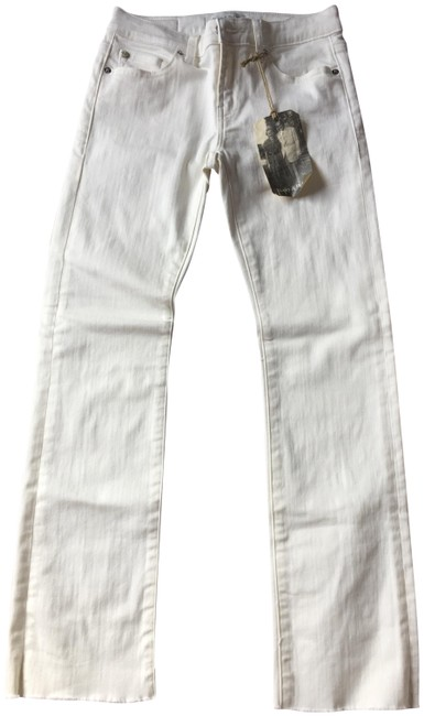 Item - White New with Tags The Tower Straight Leg Jeans Size 26 (2, XS)