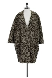 Thakoon Addition Leopard Print Coat