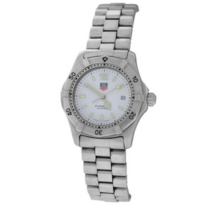 TAG Heuer Authentic Ladies Tag Heuer Professional WK1311 Stainless Steel Quartz