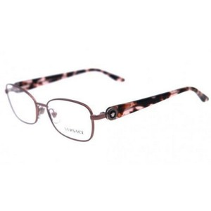 Versace VE1210-1328 Cats Eye Women's Marble Pink Frame Genuine Eyeglasses