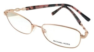 8e4c13b8fb Michael Kors MK7007-1026-53 Sabina Women s Rose Gold Frame Genuine  Eyeglasses