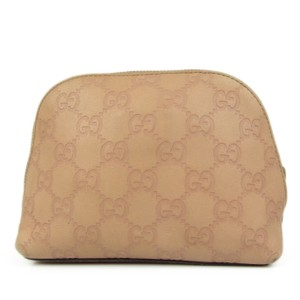 Gucci GUCCI GG Guccissima Leather Mini Cosmetic Pouch