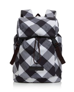 adidas By Stella McCartney Lightweight Plain Print Travel Check Print  Backpack 6435348001