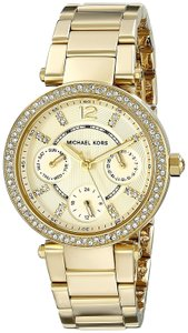 Michael Kors Michael Kors Quartz Gold and White Dial Women's Watch MK5354