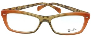 Ray-Ban RX5255-5487 Highstreet Women's Multicolor Frame Clear Lens Eyeglasses