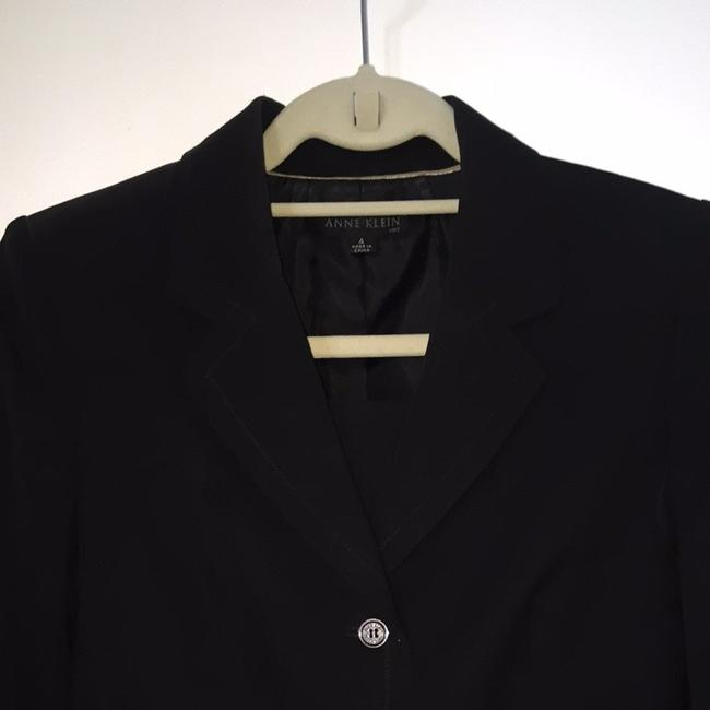 Anne Klein 3/4 Length Suit Jacket And Skirt